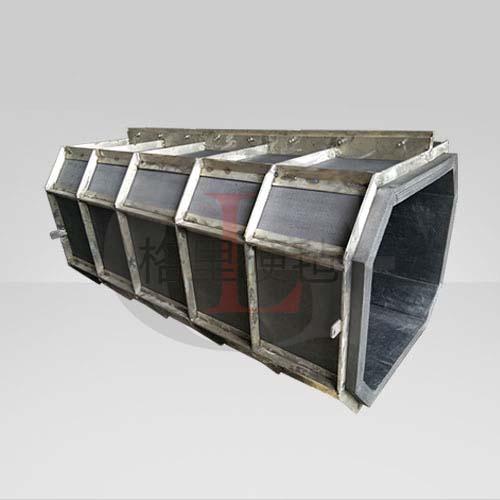热室总程安装整体八角筒