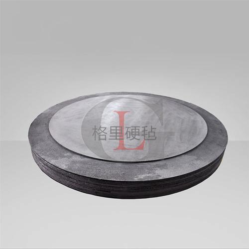 复合硬质毡圆形板 碳毡 隔热保温 热导系数低