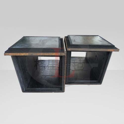 增强复合硬毡方筒 无缝拼装 加热室 保温隔热